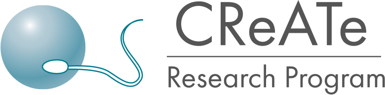 Logo for CReATe Research Program