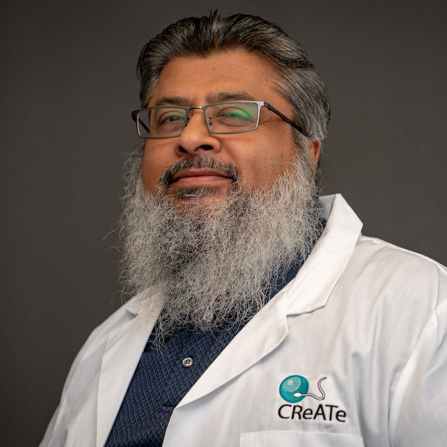 Photo of Ayub Lulat, Senior Director of CReATe Cord Blood Bank and CReATe Biobank